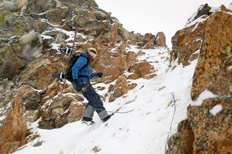 Exum Splitboard Mountaineering Camp 2015 Photo © David Stubbs
