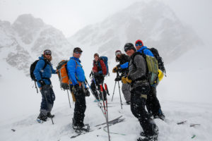 Exum Splitboard Mountaineering Camp 2015 Photo © David Stubbs